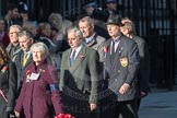 March Past, Remembrance Sunday at the Cenotaph 2016: M31 Romany & Traveller Society. Cenotaph, Whitehall, London SW1, London, Greater London, United Kingdom, on 13 November 2016 at 13:17, image #2778