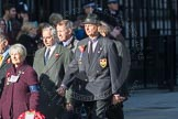 March Past, Remembrance Sunday at the Cenotaph 2016: M31 Romany & Traveller Society. Cenotaph, Whitehall, London SW1, London, Greater London, United Kingdom, on 13 November 2016 at 13:17, image #2779