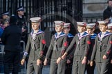 March Past, Remembrance Sunday at the Cenotaph 2016: M32 Army and combined Cadet Force. Cenotaph, Whitehall, London SW1, London, Greater London, United Kingdom, on 13 November 2016 at 13:17, image #2781