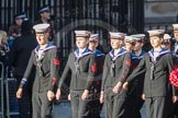 March Past, Remembrance Sunday at the Cenotaph 2016: M32 Army and combined Cadet Force. Cenotaph, Whitehall, London SW1, London, Greater London, United Kingdom, on 13 November 2016 at 13:17, image #2782