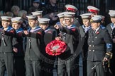 March Past, Remembrance Sunday at the Cenotaph 2016: M32 Army and combined Cadet Force. Cenotaph, Whitehall, London SW1, London, Greater London, United Kingdom, on 13 November 2016 at 13:17, image #2789
