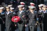 March Past, Remembrance Sunday at the Cenotaph 2016: M32 Army and combined Cadet Force. Cenotaph, Whitehall, London SW1, London, Greater London, United Kingdom, on 13 November 2016 at 13:17, image #2790