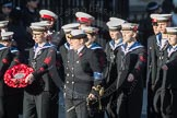 March Past, Remembrance Sunday at the Cenotaph 2016: M32 Army and combined Cadet Force. Cenotaph, Whitehall, London SW1, London, Greater London, United Kingdom, on 13 November 2016 at 13:17, image #2791