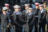 March Past, Remembrance Sunday at the Cenotaph 2016: M32 Army and combined Cadet Force. Cenotaph, Whitehall, London SW1, London, Greater London, United Kingdom, on 13 November 2016 at 13:17, image #2794
