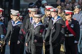 March Past, Remembrance Sunday at the Cenotaph 2016: M32 Army and combined Cadet Force. Cenotaph, Whitehall, London SW1, London, Greater London, United Kingdom, on 13 November 2016 at 13:17, image #2795