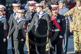 March Past, Remembrance Sunday at the Cenotaph 2016: M32 Army and combined Cadet Force. Cenotaph, Whitehall, London SW1, London, Greater London, United Kingdom, on 13 November 2016 at 13:17, image #2796