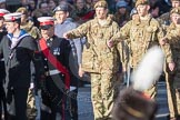 March Past, Remembrance Sunday at the Cenotaph 2016: M32 Army and combined Cadet Force. Cenotaph, Whitehall, London SW1, London, Greater London, United Kingdom, on 13 November 2016 at 13:17, image #2798