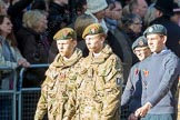 March Past, Remembrance Sunday at the Cenotaph 2016: M32 Army and combined Cadet Force. Cenotaph, Whitehall, London SW1, London, Greater London, United Kingdom, on 13 November 2016 at 13:18, image #2799