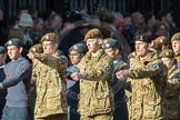 March Past, Remembrance Sunday at the Cenotaph 2016: M32 Army and combined Cadet Force. Cenotaph, Whitehall, London SW1, London, Greater London, United Kingdom, on 13 November 2016 at 13:18, image #2801