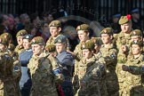 March Past, Remembrance Sunday at the Cenotaph 2016: M32 Army and combined Cadet Force. Cenotaph, Whitehall, London SW1, London, Greater London, United Kingdom, on 13 November 2016 at 13:18, image #2804