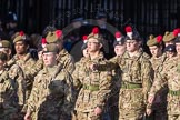 March Past, Remembrance Sunday at the Cenotaph 2016: M32 Army and combined Cadet Force. Cenotaph, Whitehall, London SW1, London, Greater London, United Kingdom, on 13 November 2016 at 13:18, image #2806