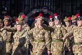 March Past, Remembrance Sunday at the Cenotaph 2016: M32 Army and combined Cadet Force. Cenotaph, Whitehall, London SW1, London, Greater London, United Kingdom, on 13 November 2016 at 13:18, image #2807