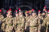 March Past, Remembrance Sunday at the Cenotaph 2016: M32 Army and combined Cadet Force. Cenotaph, Whitehall, London SW1, London, Greater London, United Kingdom, on 13 November 2016 at 13:18, image #2808