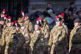 March Past, Remembrance Sunday at the Cenotaph 2016: M32 Army and combined Cadet Force. Cenotaph, Whitehall, London SW1, London, Greater London, United Kingdom, on 13 November 2016 at 13:18, image #2812