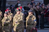 March Past, Remembrance Sunday at the Cenotaph 2016: M32 Army and combined Cadet Force. Cenotaph, Whitehall, London SW1, London, Greater London, United Kingdom, on 13 November 2016 at 13:18, image #2813