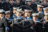 March Past, Remembrance Sunday at the Cenotaph 2016: M32 Army and combined Cadet Force. Cenotaph, Whitehall, London SW1, London, Greater London, United Kingdom, on 13 November 2016 at 13:18, image #2816