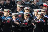 March Past, Remembrance Sunday at the Cenotaph 2016: M32 Army and combined Cadet Force. Cenotaph, Whitehall, London SW1, London, Greater London, United Kingdom, on 13 November 2016 at 13:18, image #2817