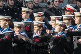 March Past, Remembrance Sunday at the Cenotaph 2016: M32 Army and combined Cadet Force. Cenotaph, Whitehall, London SW1, London, Greater London, United Kingdom, on 13 November 2016 at 13:18, image #2818