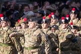 March Past, Remembrance Sunday at the Cenotaph 2016: M32 Army and combined Cadet Force. Cenotaph, Whitehall, London SW1, London, Greater London, United Kingdom, on 13 November 2016 at 13:18, image #2821