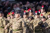 March Past, Remembrance Sunday at the Cenotaph 2016: M32 Army and combined Cadet Force. Cenotaph, Whitehall, London SW1, London, Greater London, United Kingdom, on 13 November 2016 at 13:18, image #2822