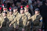 March Past, Remembrance Sunday at the Cenotaph 2016: M32 Army and combined Cadet Force. Cenotaph, Whitehall, London SW1, London, Greater London, United Kingdom, on 13 November 2016 at 13:18, image #2825