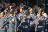 March Past, Remembrance Sunday at the Cenotaph 2016: M33 Scout Association. Cenotaph, Whitehall, London SW1, London, Greater London, United Kingdom, on 13 November 2016 at 13:18, image #2833