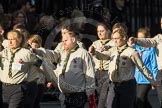 March Past, Remembrance Sunday at the Cenotaph 2016: M33 Scout Association. Cenotaph, Whitehall, London SW1, London, Greater London, United Kingdom, on 13 November 2016 at 13:18, image #2848