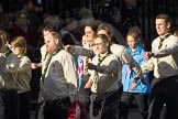 March Past, Remembrance Sunday at the Cenotaph 2016: M33 Scout Association. Cenotaph, Whitehall, London SW1, London, Greater London, United Kingdom, on 13 November 2016 at 13:18, image #2849
