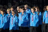 March Past, Remembrance Sunday at the Cenotaph 2016: M34 Girlguiding UK. Cenotaph, Whitehall, London SW1, London, Greater London, United Kingdom, on 13 November 2016 at 13:18, image #2858