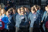 March Past, Remembrance Sunday at the Cenotaph 2016: M35 Girls Brigade England & Wales. Cenotaph, Whitehall, London SW1, London, Greater London, United Kingdom, on 13 November 2016 at 13:18, image #2867