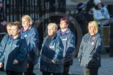 March Past, Remembrance Sunday at the Cenotaph 2016: M35 Girls Brigade England & Wales. Cenotaph, Whitehall, London SW1, London, Greater London, United Kingdom, on 13 November 2016 at 13:18, image #2876