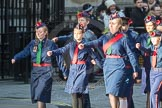 March Past, Remembrance Sunday at the Cenotaph 2016: M36 Church Lads & Church Girls Brigade. Cenotaph, Whitehall, London SW1, London, Greater London, United Kingdom, on 13 November 2016 at 13:18, image #2879