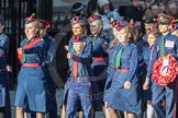 March Past, Remembrance Sunday at the Cenotaph 2016: M36 Church Lads & Church Girls Brigade. Cenotaph, Whitehall, London SW1, London, Greater London, United Kingdom, on 13 November 2016 at 13:18, image #2882