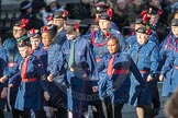 March Past, Remembrance Sunday at the Cenotaph 2016: M36 Church Lads & Church Girls Brigade. Cenotaph, Whitehall, London SW1, London, Greater London, United Kingdom, on 13 November 2016 at 13:19, image #2888