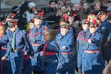 March Past, Remembrance Sunday at the Cenotaph 2016: M36 Church Lads & Church Girls Brigade. Cenotaph, Whitehall, London SW1, London, Greater London, United Kingdom, on 13 November 2016 at 13:19, image #2890