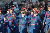 March Past, Remembrance Sunday at the Cenotaph 2016: M36 Church Lads & Church Girls Brigade. Cenotaph, Whitehall, London SW1, London, Greater London, United Kingdom, on 13 November 2016 at 13:19, image #2891