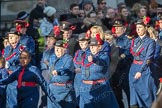 March Past, Remembrance Sunday at the Cenotaph 2016: M36 Church Lads & Church Girls Brigade. Cenotaph, Whitehall, London SW1, London, Greater London, United Kingdom, on 13 November 2016 at 13:19, image #2892