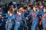 March Past, Remembrance Sunday at the Cenotaph 2016: M36 Church Lads & Church Girls Brigade. Cenotaph, Whitehall, London SW1, London, Greater London, United Kingdom, on 13 November 2016 at 13:19, image #2893