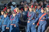 March Past, Remembrance Sunday at the Cenotaph 2016: M36 Church Lads & Church Girls Brigade. Cenotaph, Whitehall, London SW1, London, Greater London, United Kingdom, on 13 November 2016 at 13:19, image #2894