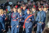March Past, Remembrance Sunday at the Cenotaph 2016: M36 Church Lads & Church Girls Brigade. Cenotaph, Whitehall, London SW1, London, Greater London, United Kingdom, on 13 November 2016 at 13:19, image #2896