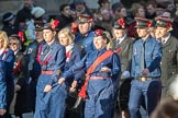 March Past, Remembrance Sunday at the Cenotaph 2016: M36 Church Lads & Church Girls Brigade. Cenotaph, Whitehall, London SW1, London, Greater London, United Kingdom, on 13 November 2016 at 13:19, image #2897