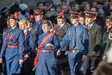 March Past, Remembrance Sunday at the Cenotaph 2016: M36 Church Lads & Church Girls Brigade. Cenotaph, Whitehall, London SW1, London, Greater London, United Kingdom, on 13 November 2016 at 13:19, image #2898