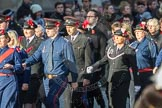 March Past, Remembrance Sunday at the Cenotaph 2016: M37 YMCA. Cenotaph, Whitehall, London SW1, London, Greater London, United Kingdom, on 13 November 2016 at 13:19, image #2901