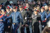 March Past, Remembrance Sunday at the Cenotaph 2016: M37 YMCA. Cenotaph, Whitehall, London SW1, London, Greater London, United Kingdom, on 13 November 2016 at 13:19, image #2902