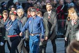 March Past, Remembrance Sunday at the Cenotaph 2016: M37 YMCA. Cenotaph, Whitehall, London SW1, London, Greater London, United Kingdom, on 13 November 2016 at 13:19, image #2906