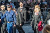 March Past, Remembrance Sunday at the Cenotaph 2016: M37 YMCA. Cenotaph, Whitehall, London SW1, London, Greater London, United Kingdom, on 13 November 2016 at 13:19, image #2908