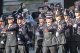 March Past, Remembrance Sunday at the Cenotaph 2016: M39 Kent Police. Cenotaph, Whitehall, London SW1, London, Greater London, United Kingdom, on 13 November 2016 at 13:19, image #2928
