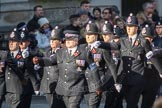 March Past, Remembrance Sunday at the Cenotaph 2016: M39 Kent Police. Cenotaph, Whitehall, London SW1, London, Greater London, United Kingdom, on 13 November 2016 at 13:19, image #2929