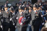 March Past, Remembrance Sunday at the Cenotaph 2016: M39 Kent Police. Cenotaph, Whitehall, London SW1, London, Greater London, United Kingdom, on 13 November 2016 at 13:19, image #2935