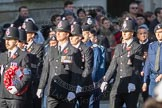 March Past, Remembrance Sunday at the Cenotaph 2016: M39 Kent Police. Cenotaph, Whitehall, London SW1, London, Greater London, United Kingdom, on 13 November 2016 at 13:19, image #2937
